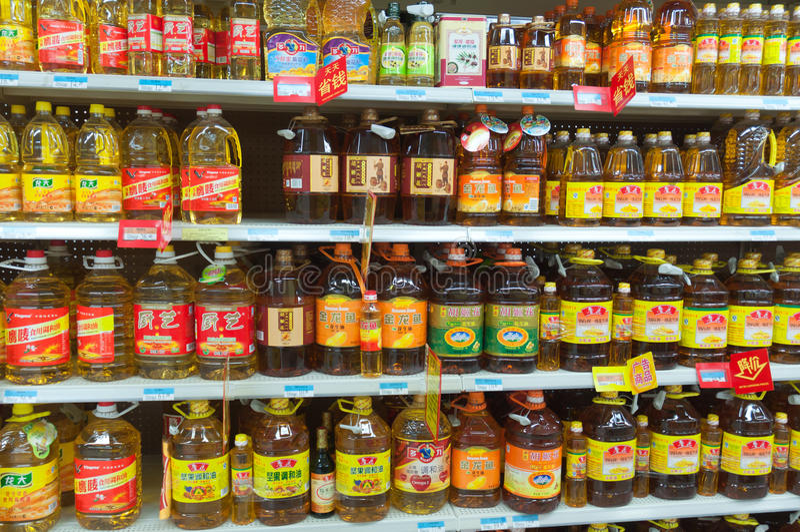Walmart à Zhongshan Chine photos stock