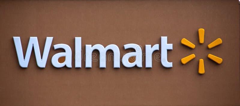 Walmart royalty-vrije stock afbeeldingen