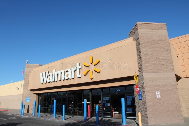 Walmart fotografia stock libera da diritti