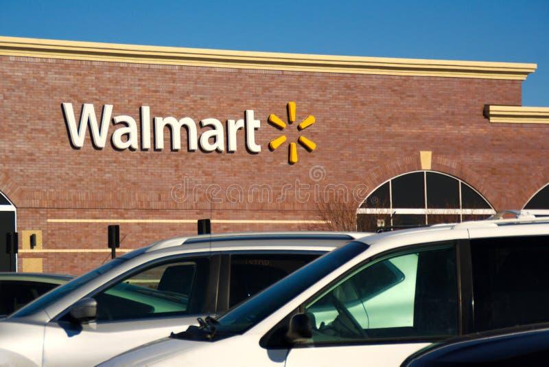 Walmart стоковое изображение