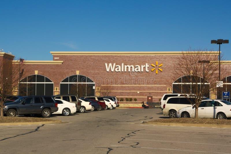 Walmart imagens de stock royalty free