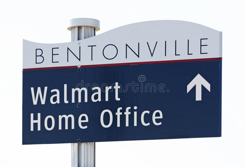 Walmart Home Office royalty free stock photo