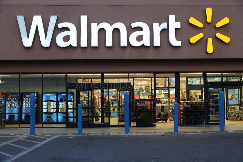 Walmart Kalifornien royaltyfri fotografi