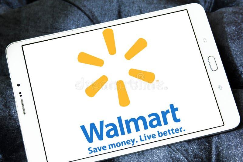 Walmart logo zdjęcie royalty free