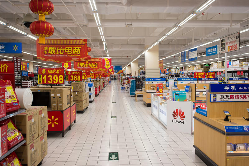 Wal mart stores stock market project