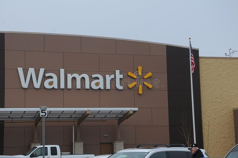 Walmart sklep zdjęcia stock