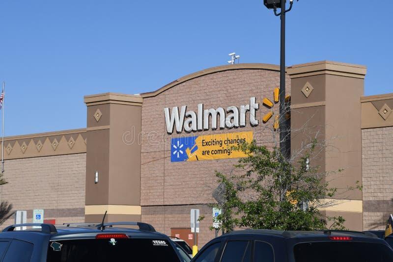 Walmart sklep zdjęcie stock