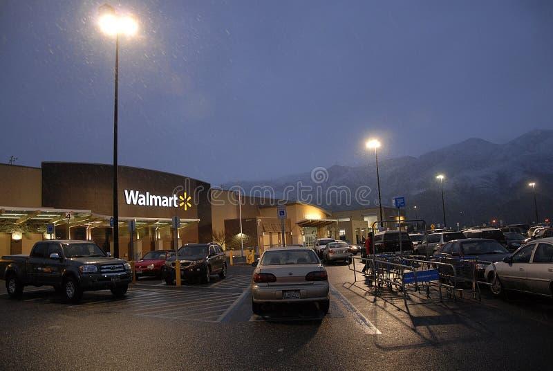 Walmart sklep fotografia stock