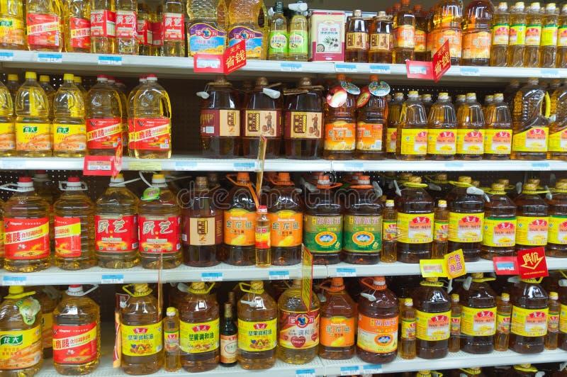 Walmart in Zhongshan China stock foto's