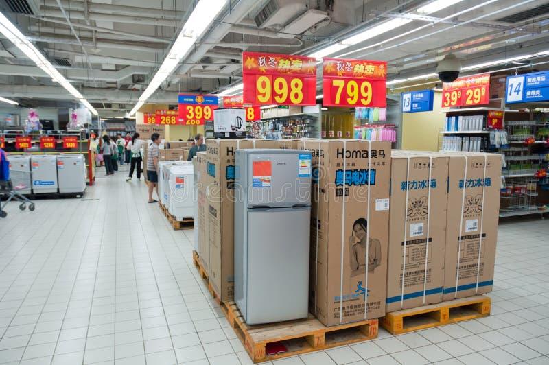 Walmart In Zhongshan China Editorial Stock Photo