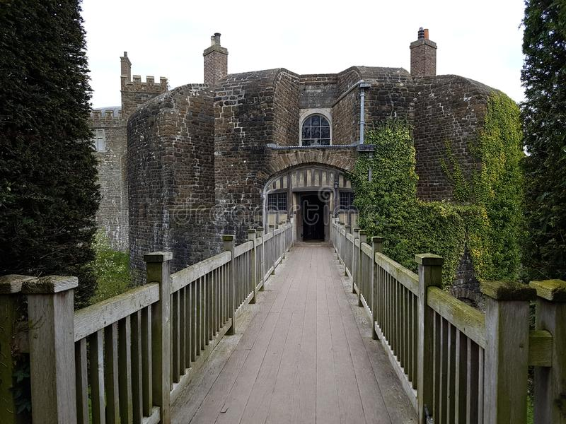 Walmer Castle at Kent, England, UK royalty free stock image