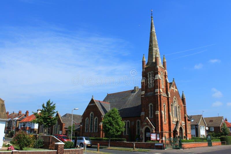 Walmer kościół baptystów UK obraz royalty free