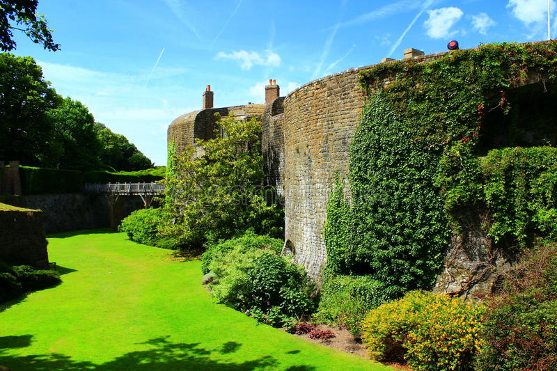 Walmer-Schloss Kent United Kingdom lizenzfreies stockfoto