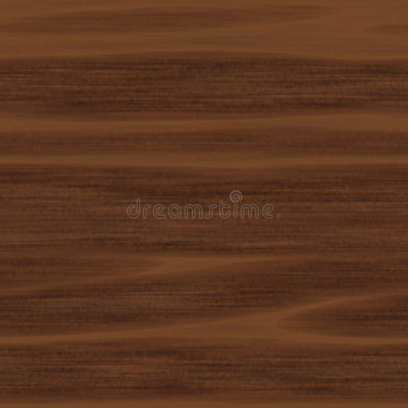 Walnuss-Planke lizenzfreie abbildung