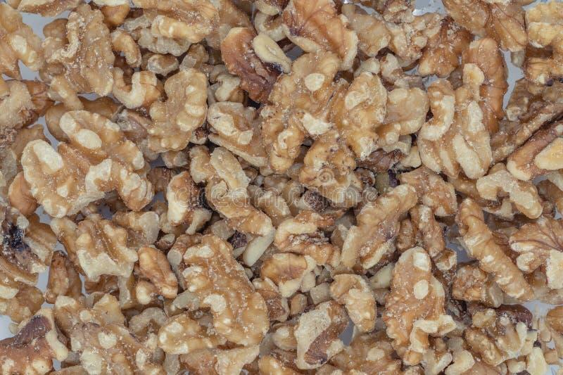 walnut ξεφλουδισμένο ξύλο καρ&upsi στοκ εικόνες με δικαίωμα ελεύθερης χρήσης