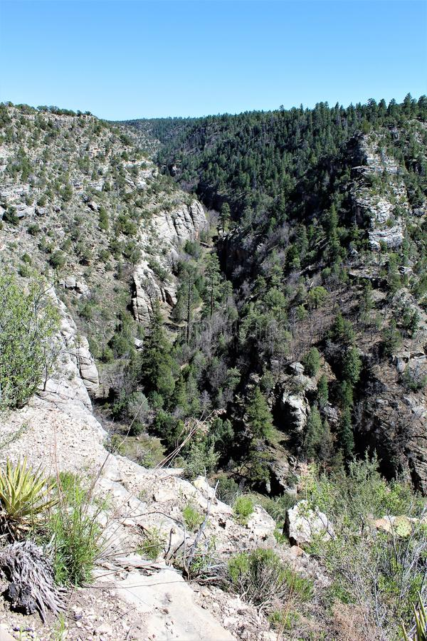 Walnut Canyon royalty free stock photo