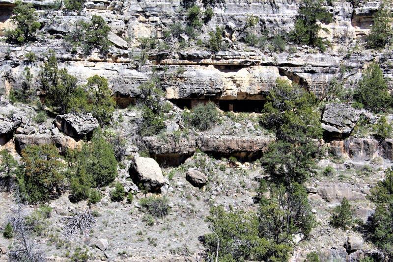 Walnut Canyon royalty free stock photography