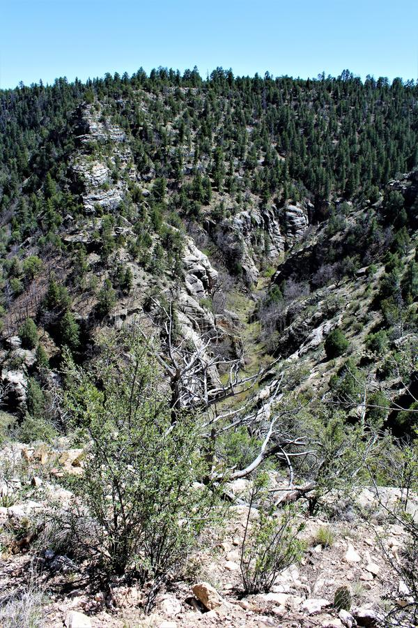 Walnut Canyon stock photos