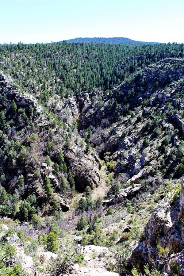 Walnut Canyon stock image