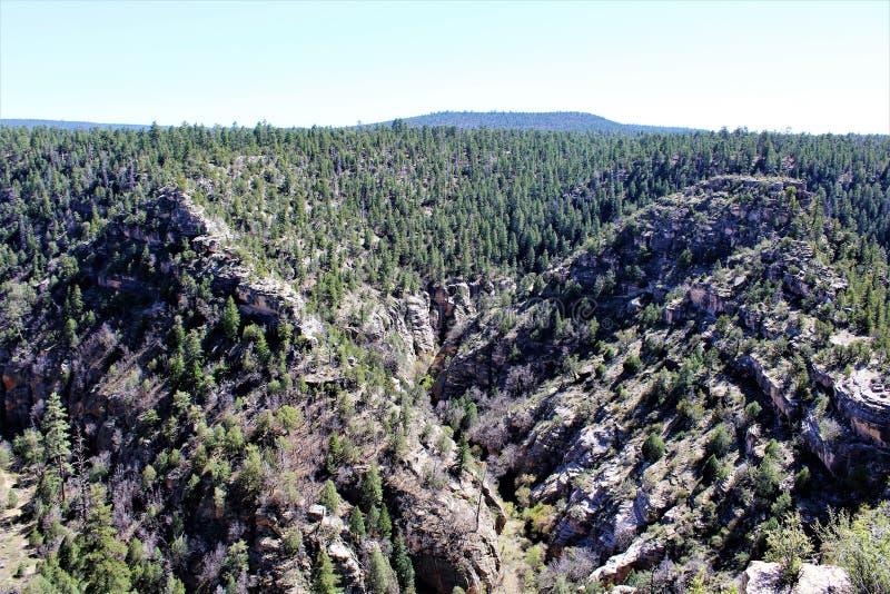 Walnut Canyon stock photo