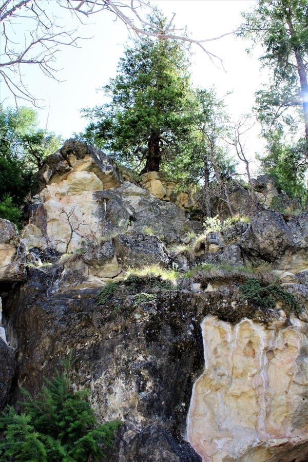Walnut Canyon royalty free stock photos