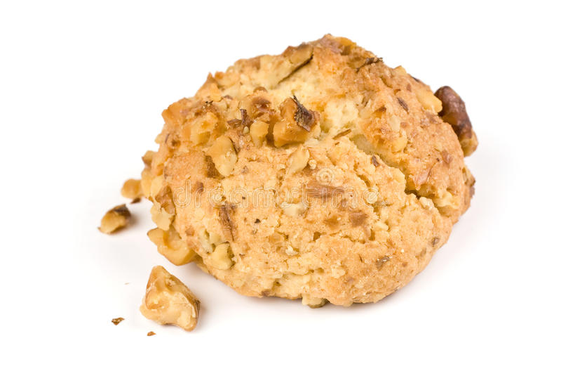 Walnut cookies stock images