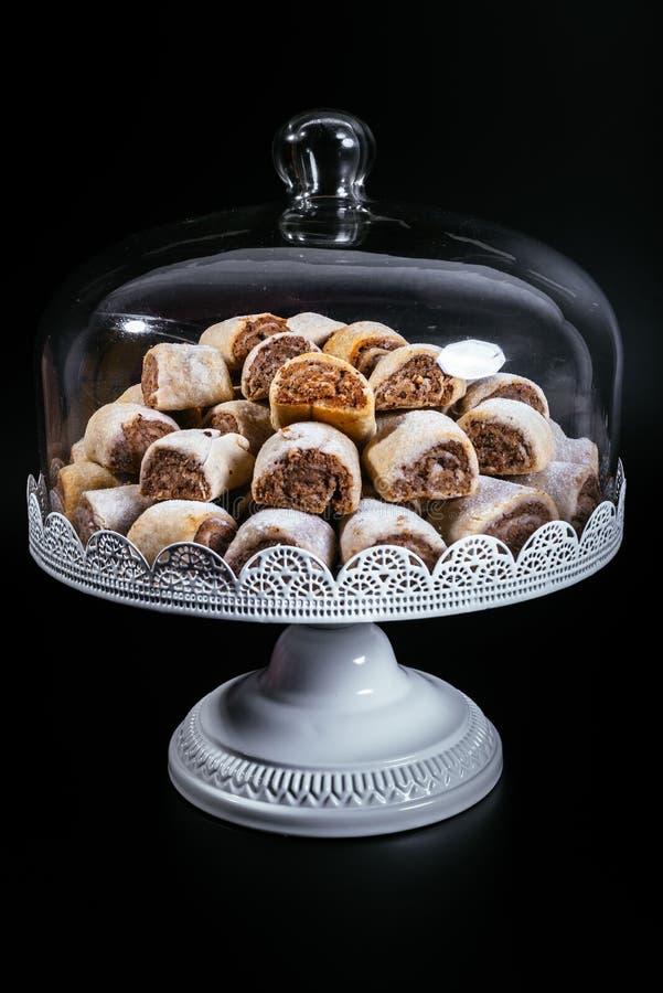 Walnut rolls royalty free stock photo