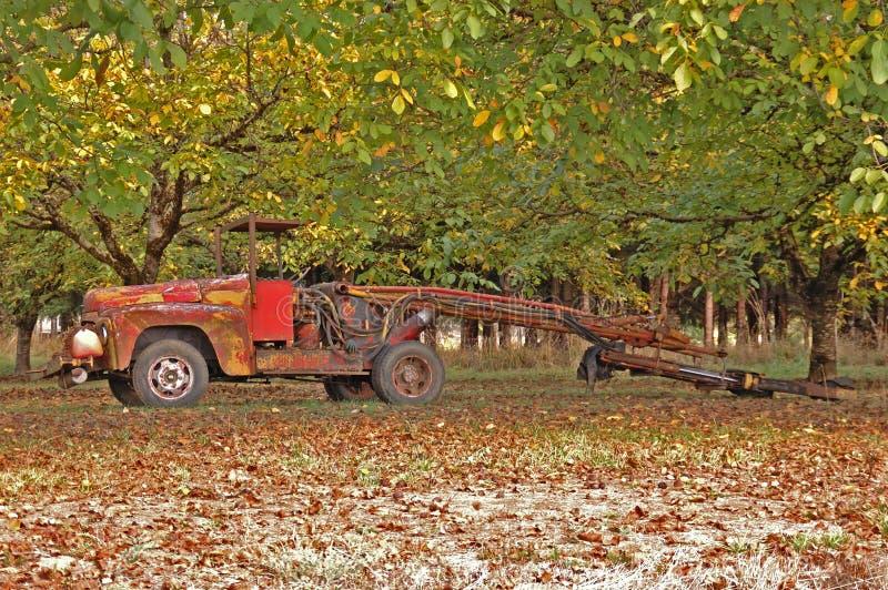 Download Walnut Shaker stock image. Image of truck, farming, shaker - 25483009