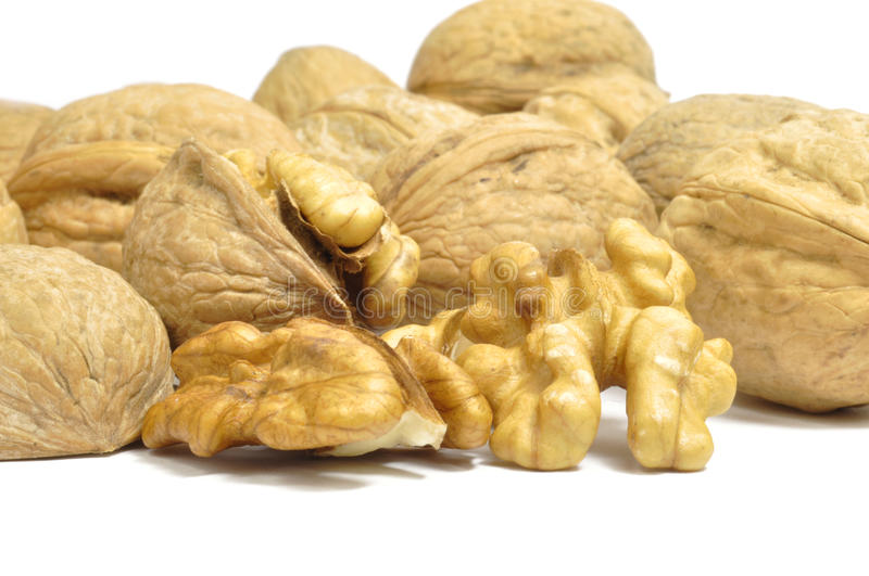 Download Walnuts stock photo. Image of close, hardiness, cracked - 17075958