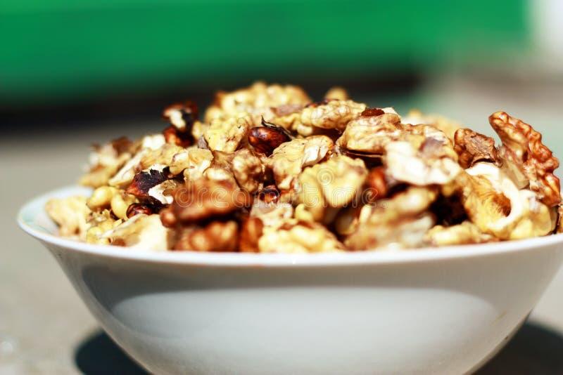 Download Walnuts stock image. Image of food, bowl, summer, fruit - 22004215