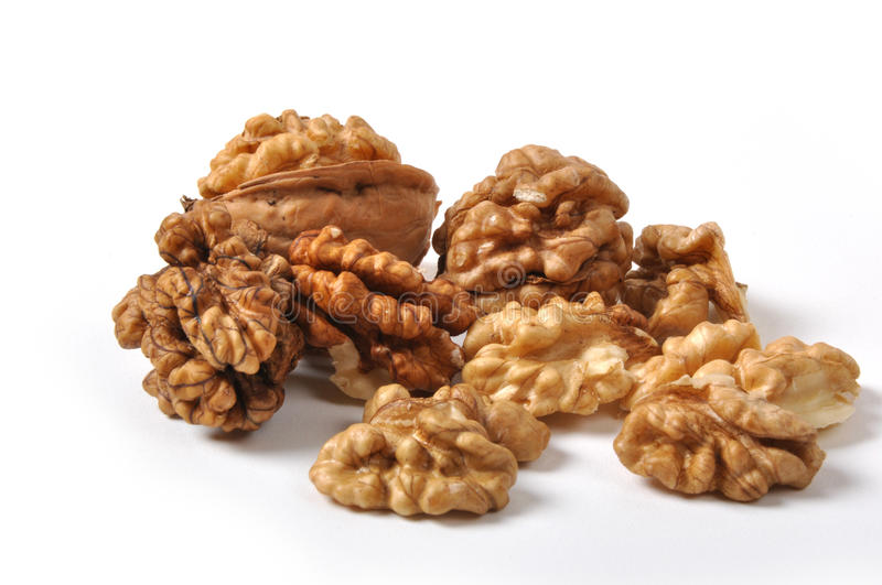 Download Walnuts stock image. Image of open, party, dessert, dried - 26213695