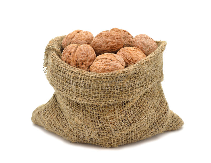 Download Walnuts In A Bag Stock Photo - Image: 27668720