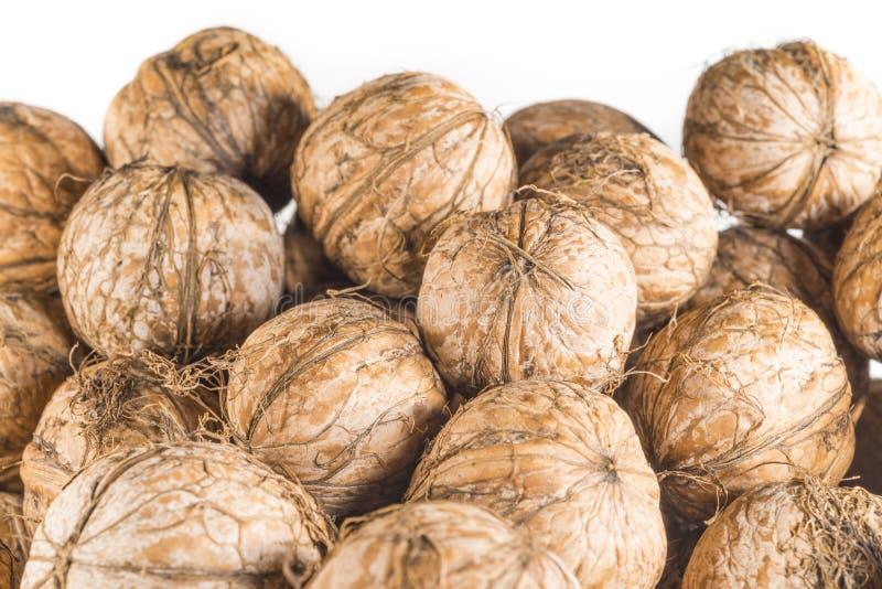 Download Walnuts stock image. Image of pile, walnuts, stack, closeup - 34241187