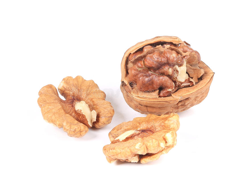 Walnuts. stock photo