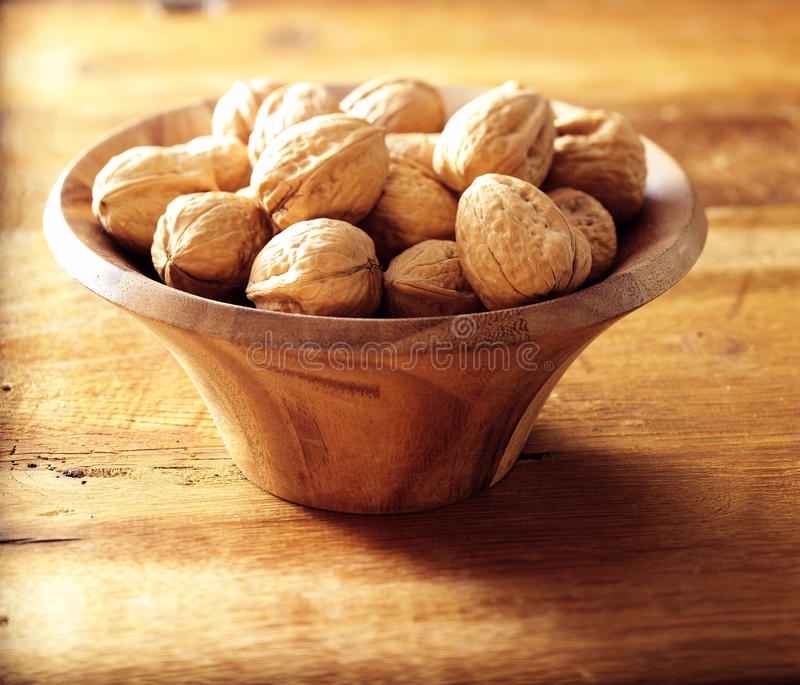 Download Walnuts in walnut bowl stock photo. Image of christmas - 25676722