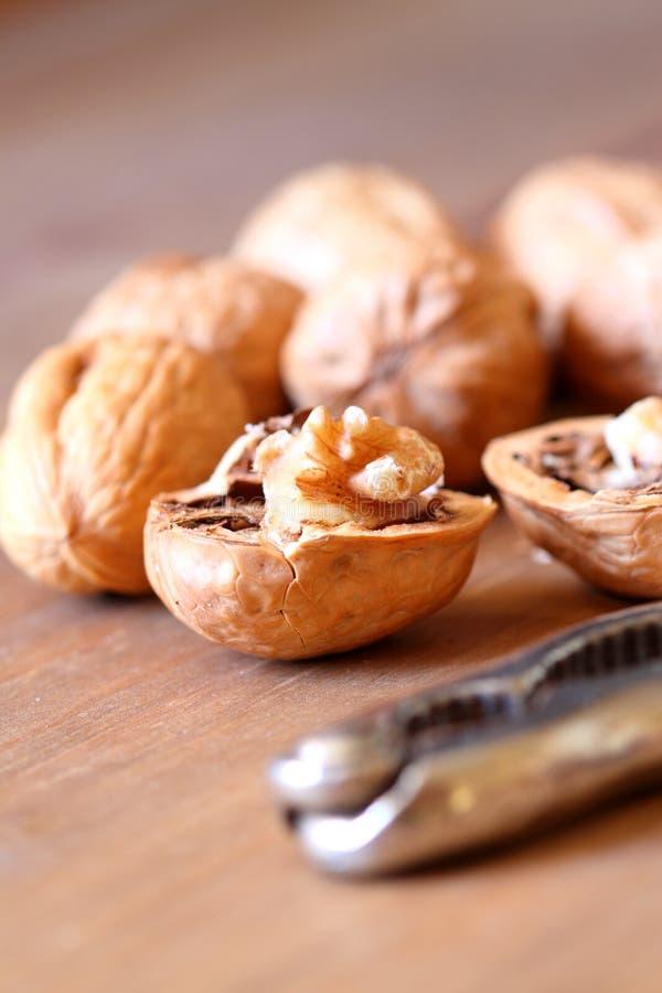 Free Walnuts With Nutcracker A Stock Photo - 22085250