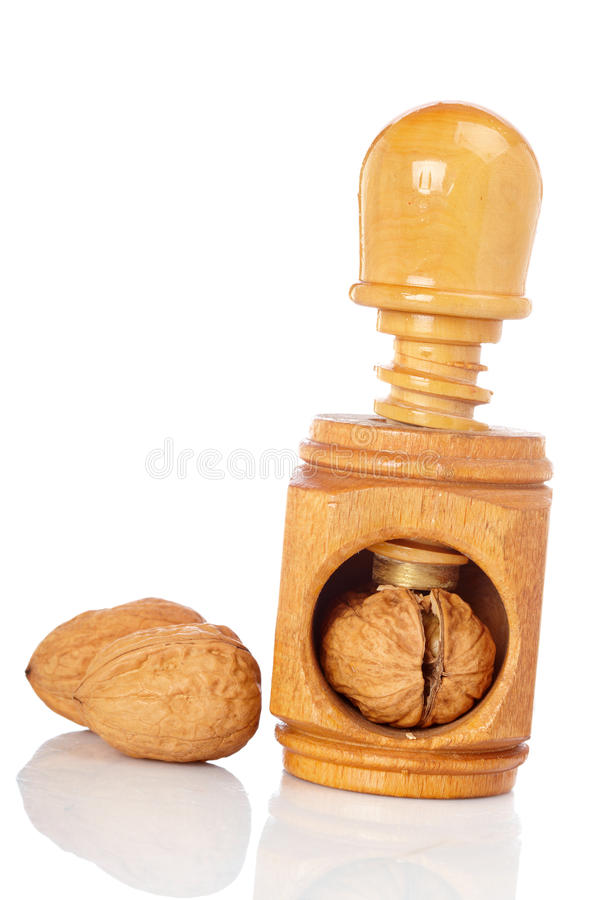 Download Walnuts And Wood Nutcracker Stock Photography - Image: 11207322