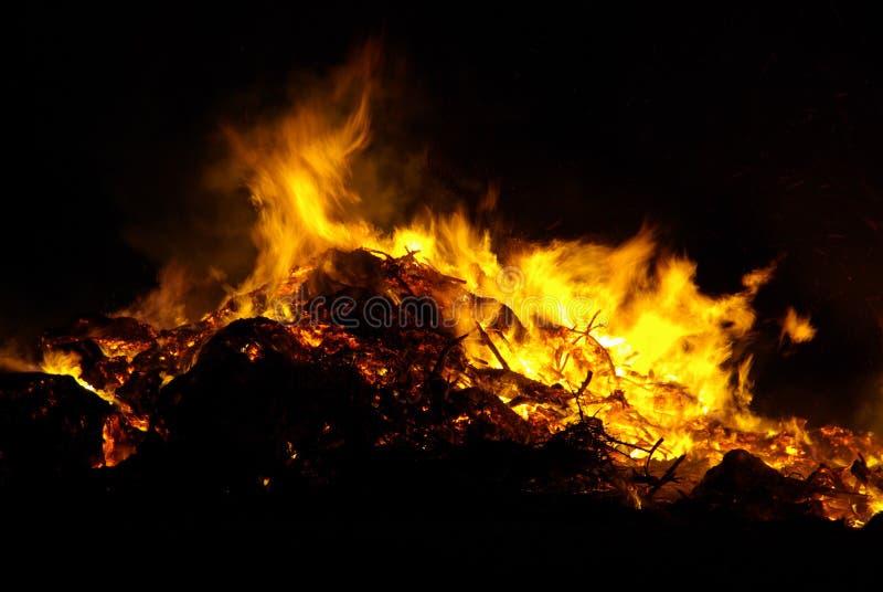 Download Walpurgis Night bonfire stock image. Image of blazing - 9315645