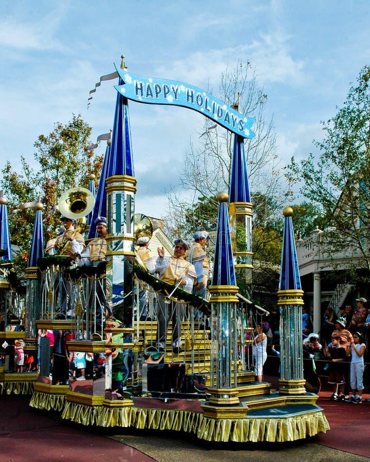 Walt Disney Światowa Wakacyjna parada fotografia stock