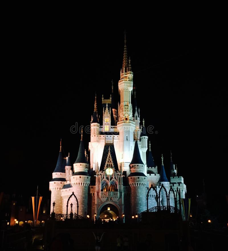 Walt Disney Światowy Magiczny królestwo obraz royalty free