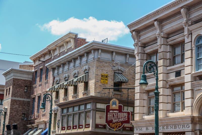 The Walt Disney Company. William Hackenburg`s. Orlando, Florida, USA - September 5, 2019: The Walt Disney Company. Although it was a fictional store, William royalty free stock photo