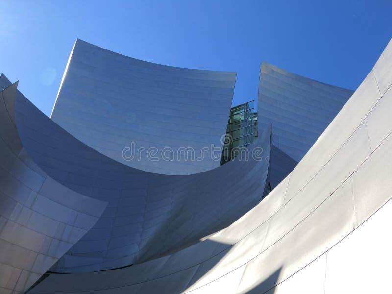 Walt Disney Concert Hall imagen de archivo libre de regalías