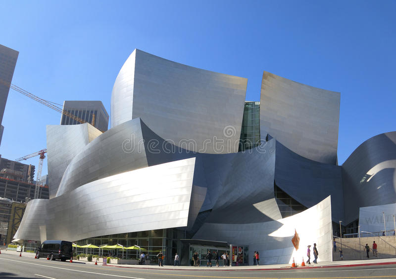 Walt Disney Concert Hall royalty free stock photo