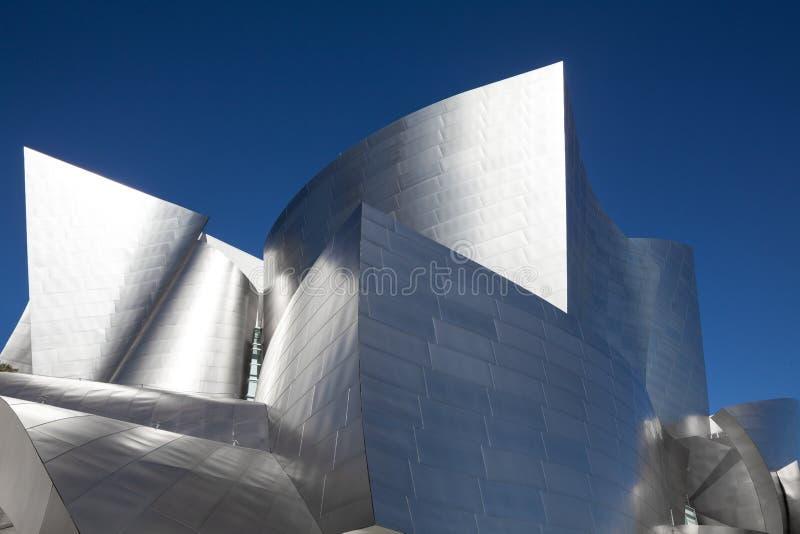 Walt Disney Concert Hall em Los Angeles, Califórnia fotografia de stock royalty free