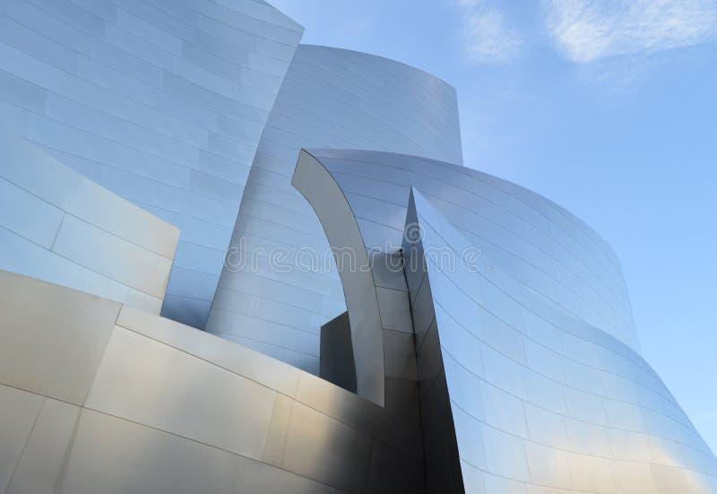 Walt Disney Concert Hall Los Angeles lizenzfreies stockfoto