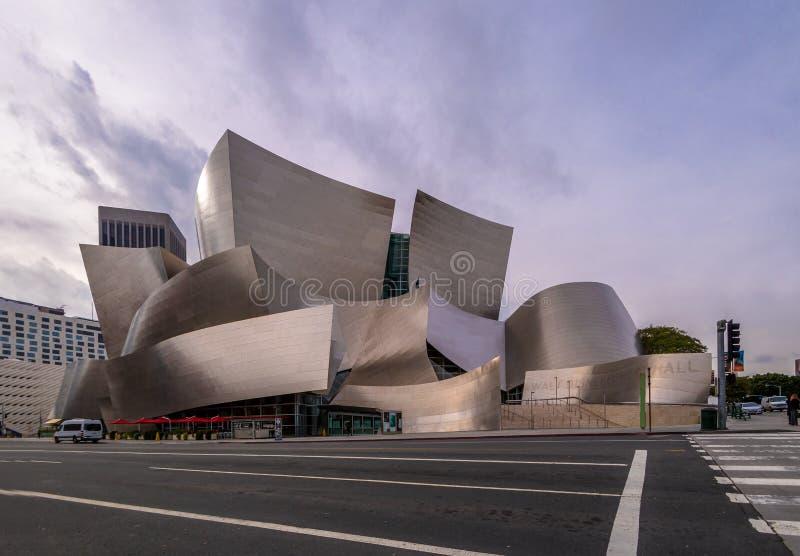 Walt Disney Concert Hall - Los Angeles, Kalifornien, USA stockbild