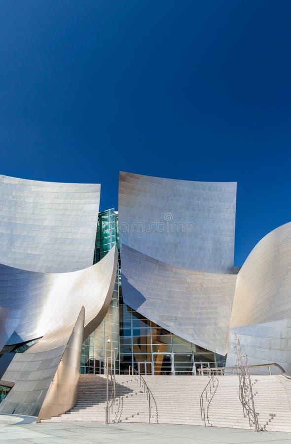 Walt Disney Concert Hall Vertical Image stock image