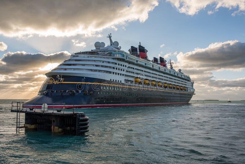 Walt Disney Cruise Ship royalty-vrije stock foto