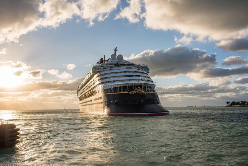 Walt Disney Cruise Ship royalty-vrije stock afbeeldingen