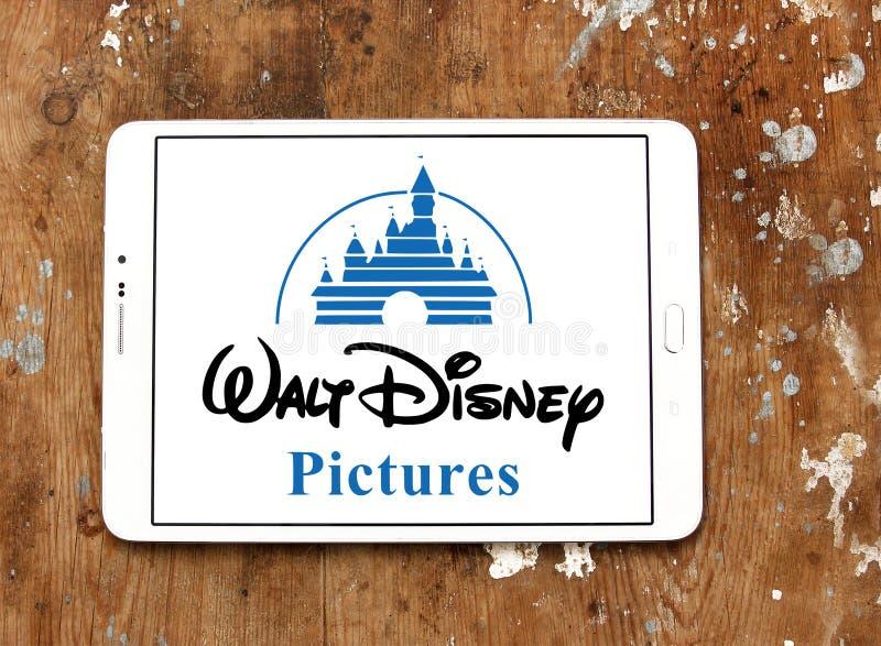 Walt Disney décrit le logo images stock